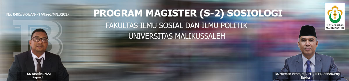 Program Magister (S-2) Sosiologi Universitas Malikussaleh